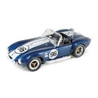 Carroll Shelby Collectibles ShelbyCobra 427 S/C #96 Blue Shelby Collectibles 1:18 Diecast Car