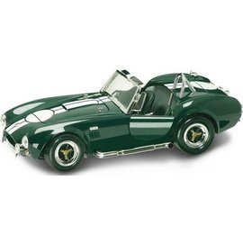 Road Legends 1964 Shelby Cobra 427 S/C in Green Road Signature 1:18 Scale Diecast Model Car