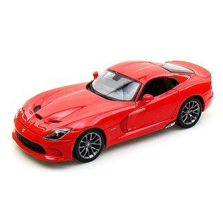 Maisto 2013 Dodge Viper SRT GTS Red Maisto 1:18 Scale Diecast Model Car
