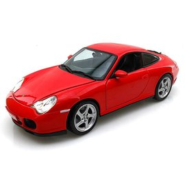 Maisto Porsche Carrera 4S Red Maisto 1:18 Scale Diecast Model Car