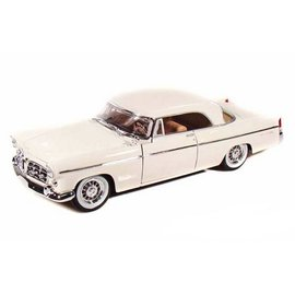 Maisto Maisto 1956 Chrysler 300B White 1:18 Scale Die Cast Model Car