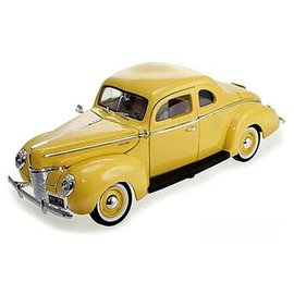 Motor Max Motor Max 1940 Ford Deluxe Coupe Yellow 1:18 Scale Diecast Model Car