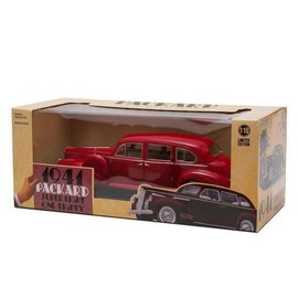 Greenlight Collectibles Greenlight 1941 Packard Super Eight One-Eighty Red 1:18 Scale Diecast Model Car