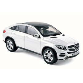 Norev Norev 2015 Mercedes Benz GLE Coupe White 1:18 Scale Diecast Model Car