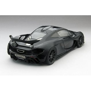 True Scale Miniatures TSM 2013 Mclaren P1 Amethyst Black 1:18 Scale Diecast Model Car
