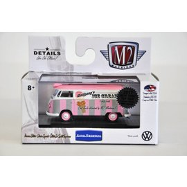 M2 Machines M2 Machines 2017 Toy Fair 1960 VW Delivery Van Wolfgangs Ice Cream 1:64 Scale Diecast Model Car