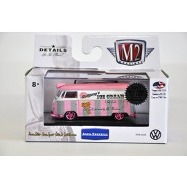 M2 Machines M2 Machines 2017 Toy Fair 1960 VW Delivery Van Wolfgang's Ice Cream CHASE 1:64 Scale Diecast Model Car