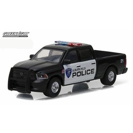 Greenlight Collectibles Greenlight 2014 Dodge RAM 1500 Auburn Hills Police Hot Pursuit Series Release 21 1:64 Scale Diecast Model Car
