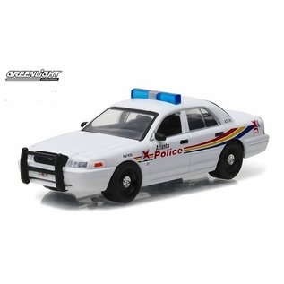 Greenlight Collectibles Greenlight Ford Crown Victoria Police Interceptor atlanta Police Department Hot Pursuit Series Release 21 1:64 Scale Diecast Model Car