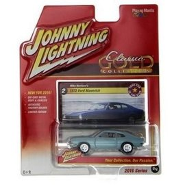 Johnny Lightning Johnny Lightning 1972 Ford Maverick Classic Gold 2016 Series 1:64 Scale Diecast Model Car