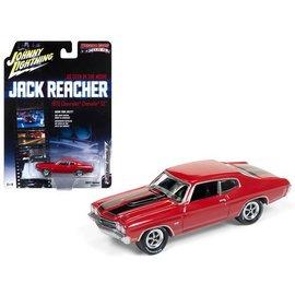 Johnny Lightning Johnny Lightning Jack Reacher 1970 Chevrolet Chevelle SS Red 1:64 Scale Diecast Model Car