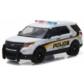 Greenlight Collectibles Greenlight 2015 Ford Police Interceptor Utility US Army Military Police Hot Pursuit Series Release 21 1:64 Scale Diecast Model Car