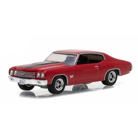 Greenlight Collectibles Greenlight 1970 Chevrolet Chevelle SS Red GL Muscle Series Release 17 1:64 Scale Diecast Model Car