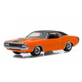 Greenlight Collectibles Greenlight 1970 Dodge Challenger R/T Orange GL Muscle Series Release 17 1:64 Scale Diecast Model Car