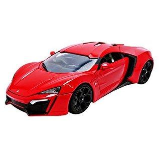 Jada Toys Jada Toys Lykan HyperSport Red Fast & Furious 1:24 Scale Diecast Model Car