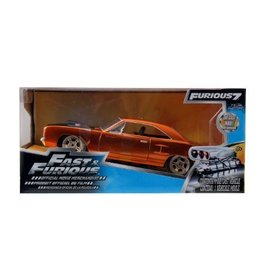 Jada Toys Dom's Plymouth Road Runner Fast & Furious Jada 1:24 Diecast Model Car