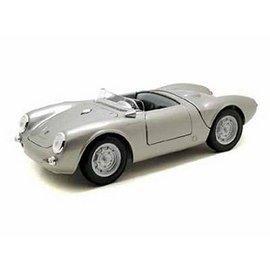 Maisto Maisto Porsche 550 A Spyder Silver 1:18 Scale Diecast Model Car
