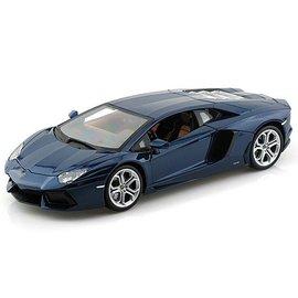 Bburago Bburago Lamborghini Aventador LP 700-4 Blue 1:18 Scale Diecast Model Car