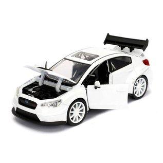 Jada Toys Jada Toys Mr. Little Nobody's Subaru WRX STi White Fast & Furious 1:24 Scale Diecast Model Car