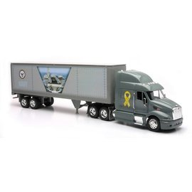 New Ray New Ray Peterbilt 387 K3 NAVY 1:32 Scale Diecast And Plastic Model Truck