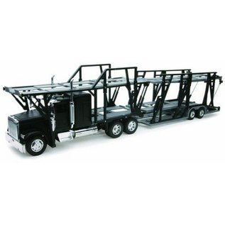 New Ray Freightliner Classic XL Car Transporter New Ray 1:32 Diecast Plastic