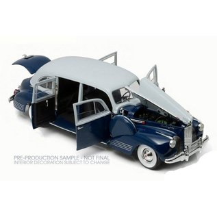 Greenlight Collectibles Greenlight 1941 Packard Super Eight One Eighty Blue 1:18 Scale Diecast Model Car