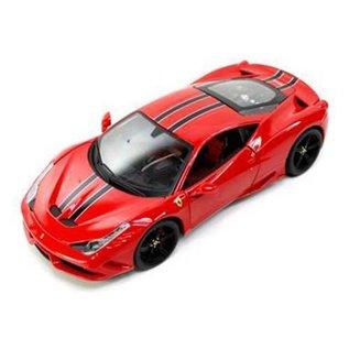 Bburago Bburago Ferrari 458 Speciale Red Signature Series 1:18 Scale Diecast Model Car