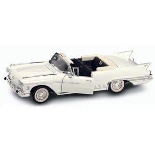 Road Signature Road Signature 1958 Cadillac Eldorado Biarritz Convertible White 1:18 Scale Diecast Model Car