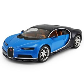 Maisto Maisto Bugatti Chiron Blue And Black 1:24 Scale Diecast Model Car