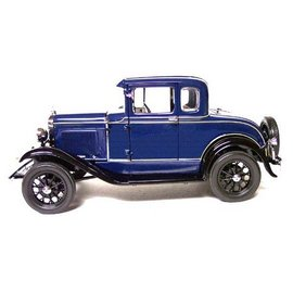 Motor City Classics 1931 Ford Model A Coupe Blue 1:18 Scale Diecast Model Car