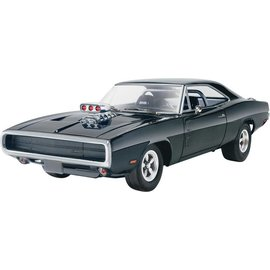 Revell-Monogram RMX Revell Dominic's 1970 Dodge Charger Fast & Furious 1:25 Scale Plastic Model Kit