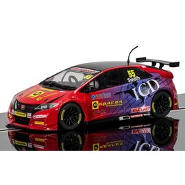 Scalextric Scalextric BTCC Honda Civic Type R #55 Jeff Smith 1:32 Scale Slot Car