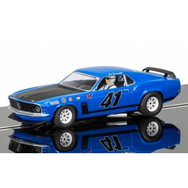 Scalextric Scalextric 1969 Ford Mustang Boss 302 #41 Ed Hinchcliff 1:32 Scale Slot Car