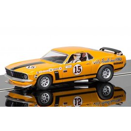 Scalextric Scalextric Ford Mustang Boss 302 Parnelli Jones Bud Moore Engineering 1:32 Scale Slot Car