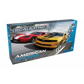 Scalextric Scalextric American Racers Slot Car Set 1:32 Scale