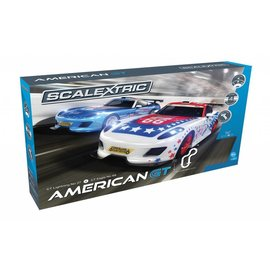 Scalextric Scalextric American GT Slot Car Set 1:32 Scale