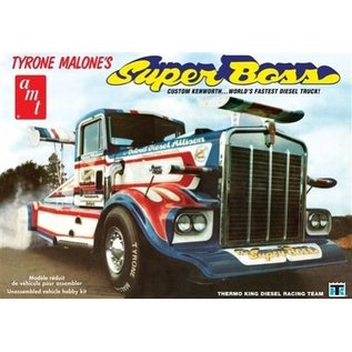 AMT Tyrone Malone's Super Boss Custom Kenworth Worlds Fastest Diesel Truck 1:25 Scale Plastic Model Kit