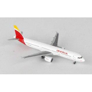 Gemini Jets Gemini Jets Iberia Airlines Airbus A321 1:400 Scale Diecast Model Airplane