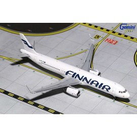 Gemini Jets Gemini Jets Finnair Airbus A321 1:400 Scale Diecast Model Airplane
