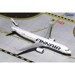 Gemini Jets Gemini Jets Finnair Airbus A321 1:400 Scale Diecast Model Airplane
