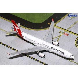 Gemini Jets Gemini Jets Qantas Airbus A330-300 Spirit Of Australia 1:400 Scale Diecast Model Airplane