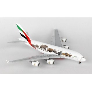 Gemini Jets Gemini Jets Emirates Airbus A380-800 United For Wildlife 1:400 Scale Diecast Model Airplane