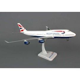 Hogan Wings Hogan Wings British Airways Boeing B747-400 1:200 Scale Plastic Model Airplane
