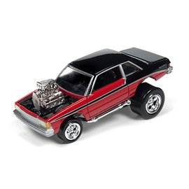 Johnny Lightning Johnny Lightning 1981 Chevy Malibu Red Zingers Street Freaks 2016 Series 1:64 Scale Diecast Model Car