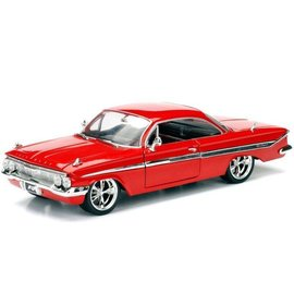Jada Toys Jada Toys Dom's Chevy Impala Red Fast & Furious 1:24 Scale Diecast Model Car