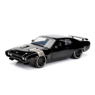 Jada Toys Jada Toys Dom's Plymouth GTX Black Fast & Furious 1:24 Scale Diecast Model Car