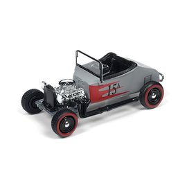 Johnny Lightning Johnny Lightning 1927 Ford T-Roadster Primer Kustomized Street Freaks 2016 Series 1:64 Scale Diecast Model Car