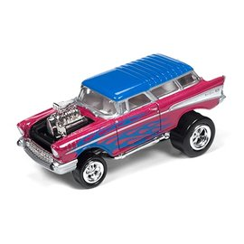 Johnny Lightning Johnny Lightning 1957 Chevy Nomad Zingers Street Freaks 2016 Series 1:64 Scale Diecast Model Car