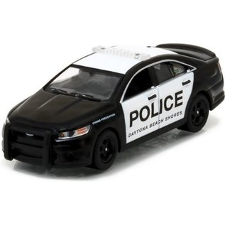 Greenlight Collectibles Greenlight 2014 Ford Police Interceptor Daytona Beach Shores Hot Pursuit Series 22 1:64 Scale Diecast Model Car