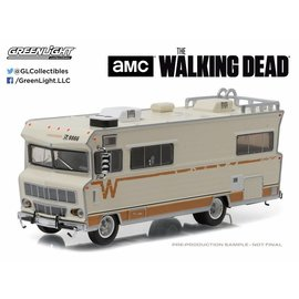 Greenlight Collectibles Greenlight 1973 Winnebago Chieftain The Walking Dead 1:64 Scale Diecast Model Car